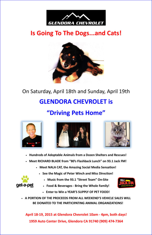 Glendora Chevrolet event